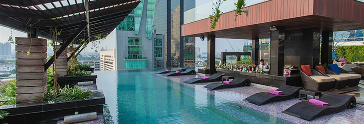 室外热水泳池 Mode Sathorn Hotel Bangkok