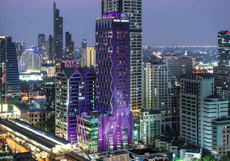 城市景观 Mode Sathorn Hotel Bangkok