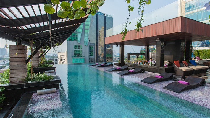 室外热水泳池 Mode Sathorn Hotel - Bangkok