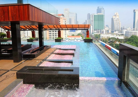 游泳池 Mode Sathorn Hotel Bangkok